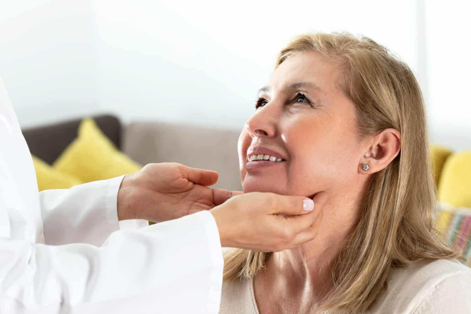 Get Rid of Loose Skin Under Chin